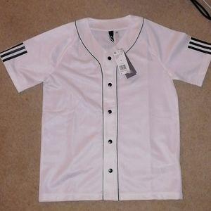 adidas Athletics Baseball jersey size small